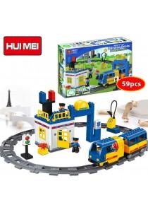 Hui Mei HM325-1 Railway Police Series Building Bricks (59pcs)