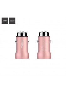 HOCO Car Charger QC2.0 Z4 (Rose Pink)
