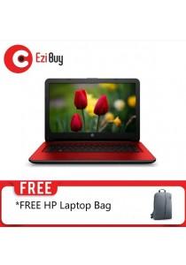 "HP 14-AM031TX Laptop (i5-6200U/4GB DDR4/1TB/2GB R5 M430/14""/Win10) - RED"
