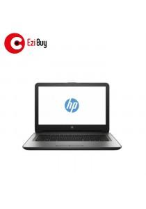 HP 14-AM095TU Notebook (i3-6006U/4GB/500GB/DVD/Win10/UMA/1YR/BP) - Silver