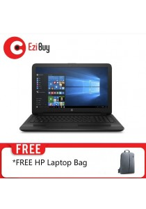 HP 15-AY103TX Laptop (i5-7200U/4GB DDR4/1TB/DVDR/Win10/R5M130 2GB/2YR/BP) - Black