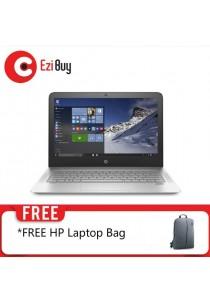 HP ENVY-13-AB002TU Laptop (FHD/i5-7200U/4GB/128GBSSD/NO-DVD/Win10/UMA/2YR/BP) - Silver
