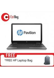 HP PAV-15-AU102TX Laptop (i5-7200U/4GB DDR4/1TB/ODD/Win10/2GB 940MX/2YR/BP/FHD/BACKLIT) - Silver