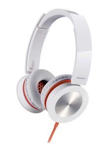 Panasonic RP-HXS400E-W Sound Rush Plus On-Ear Stereo Headphone (White)