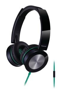 Panasonic RP-HXS400E-K Sound Rush Plus On-Ear Stereo Headphone (Black)