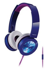 Panasonic RP-HXS400E-A Sound Rush Plus On-Ear Stereo Headphone (Blue)