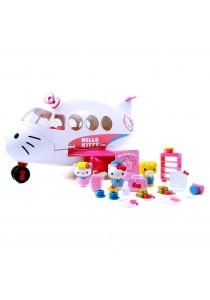 Jada Toys Hello Kitty Jet Plane Play Set Die-cast Genuine License Product Mode