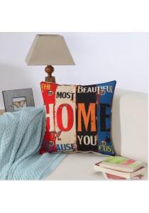 Pillow Case/Cushion Cover, 45cm x 45cm - Home