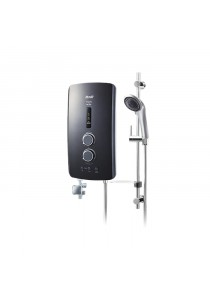 Alpha IM-9EP Metal Black Home Shower Pump Metal Black