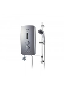 Alpha IM-9EP Misty Silver Home Shower Pump Misty Silver