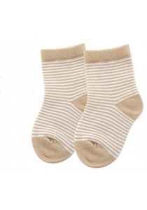 Baby Socks (2 pairs per pack) (100% Organic Cotton) (Size S)