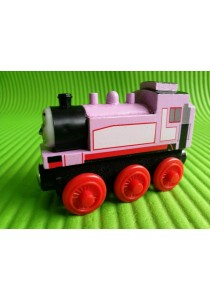 Magnetic Wood Train - Rossie Pink