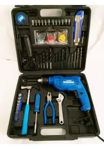 QJ 13mm Impact Drill 500w Combo Set (45 Hand tools) PM6138BMC Patman