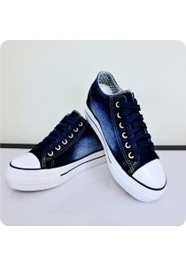 Zipper Jeans Canvas Shoes 0Q630BU