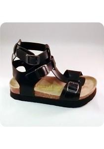 PU Highcut Sandal 0A22BLK