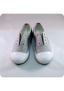 Grey Canvas Shoes 0L515GRY