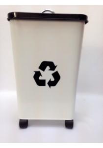 Recycle Metal Dustbin 13L