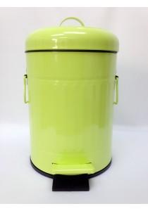 Green Metal Dustbin 5L