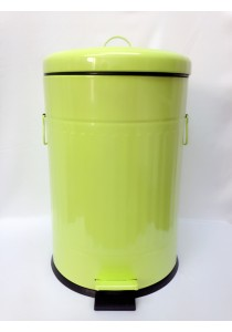 Green Metal Dustbin 20L