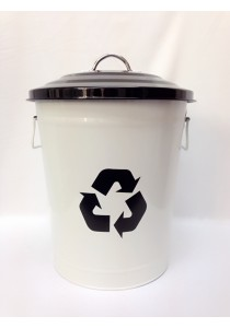 Recycle Metal Dustbin 18L