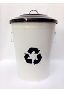 Recycle Metal Dustbin 24.50L