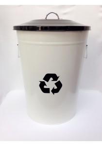 Recycle Metal Dustbin 49L