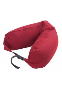 MUJI Well Fitted Neck Cushion Red