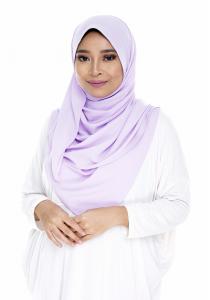 LailaFharinaRTW Plain Shawl | Lilac