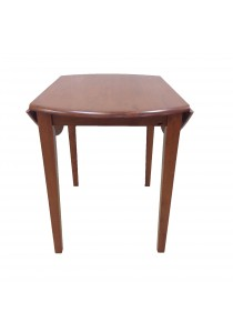 Idea Exclusive Export Design Double Drop Leaf Round Table (Brown)