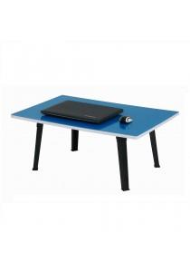 RENZO Rectangular Japanese Folding Table - Blue
