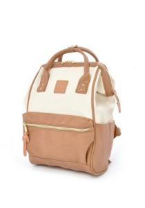 Anello Original Unisex PU Faux Leather Regular Backpack Rucksack Bag (IP)