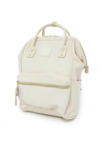 Anello Original Unisex PU Faux LEATHER MINI Backpack Rucksack Bag (IV)