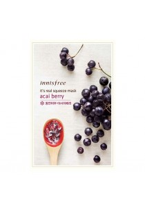 Innisfree It's Real Squeeze Mask - Acai Berry (10pcs/set)
