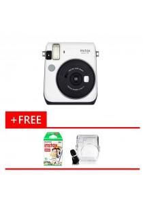 Fujifilm Instax Bundle Mini 70 + Single Pack Film + Crystal Case (Original Malaysia Warranty)(White)