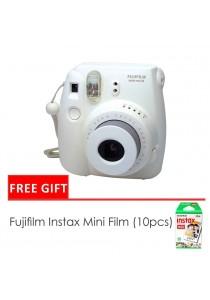 Fujifilm Instax Mini 8 Camera Yellow + Single Pack Film (1 Year Original Malaysia Warranty)