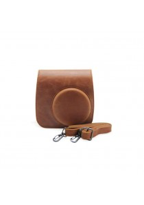 Fujifilm Instant Camera 8 Leather Case Brown