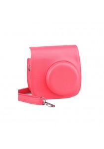 Fujifilm Instant Camera 8 Leather Case Raspberry