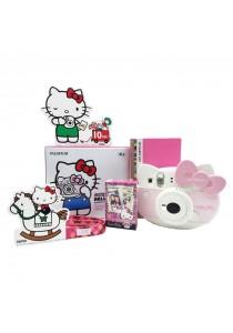 Fujifilm Instax Mini Kitty Package (Instax Mini Kitty + Kitty Strap + Kitty Film + Crystal Case)