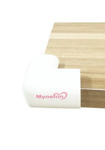 Myoshin Safety Table Corner Edge Protect Cushion (1 Set 10 pieces) - 023 (Ivory White)