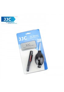 JJC CL-3D 3 in 1 Camera Cleaning Kit with LensPen, Blower and Cloth Set