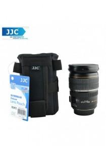 JJC DLP2 L Weather-Resistant Nylon Deluxe Pouch Lens Case for Camera DSLR Lens (162mm) DLP-2