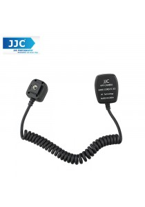 JJC FC-E3 TTL Off-Camera Shoe Cord for Canon Speedlites 580ex 600ex 430ex