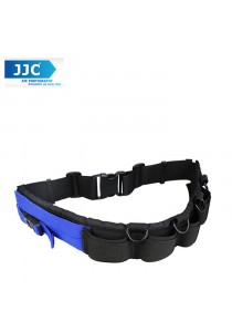 JJC GB-1 Lightweight Durable Deluxe Utility Photography Belt Strap Fits DLP Lens Pouch for Photographers