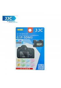 JJC GSP-5DM3 Tempered Toughened Optical Glass Camera Screen Protector 9H Hardness For Canon 5D Mark iii 3