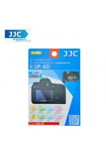 JJC GSP-6D Tempered Toughened Optical Glass Camera Screen Protector 9H Hardness For Canon EOS 6D