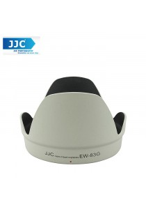 JJC LH-83G(W) White Lens Hood for Canon EF 28-300mm f/3.5-5.6L Camera Lens ( EW-83G)