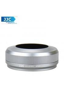 JJC LH-JX100II Lens Hood for Fuji Fujifilm X100T X100S x100 (Silver)