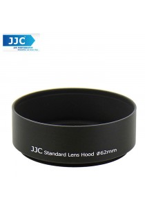 JJC LN-62s 62mm Metal Lens Hood Shade for Camera Lens (Universal Filter )