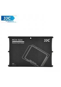 JJC MCH-SD4GR Pocket Memory Card Holders fits 4 SD Memory Cards