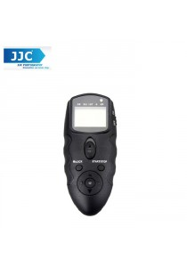 JJC MT-636 Multi-Exposure LCD Timer Remote For Canon Nikon Fujifilm Olympus Panasonic Sony Digital Camera (Cable no including )